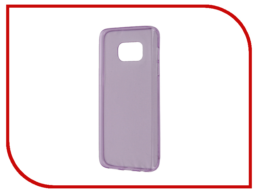 Аксессуар Чехол Samsung Galaxy S7 Zibelino Ultra Thin Case Purple ZUTC-SAM-S7-PUR<br>