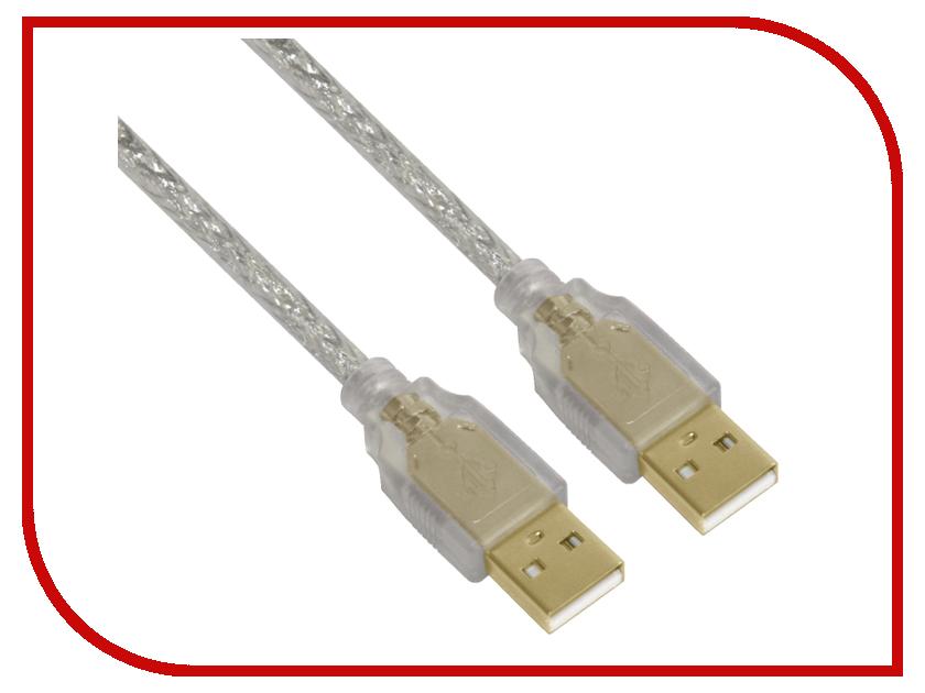 Аксессуар Greenconnect Premium USB 2.0 AM-AM Transparent GCR-UM3M-BD2SG-1.0m