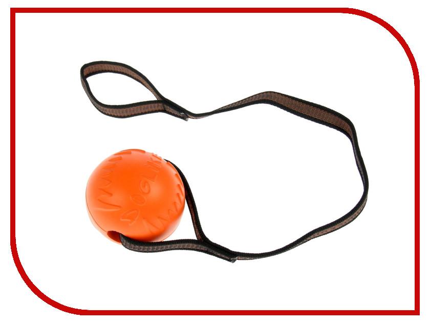 Игрушка Doglike Мяч с лентой средний Orange