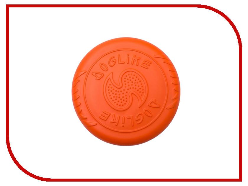 Игрушка Doglike Тарелка летающая малая Orange