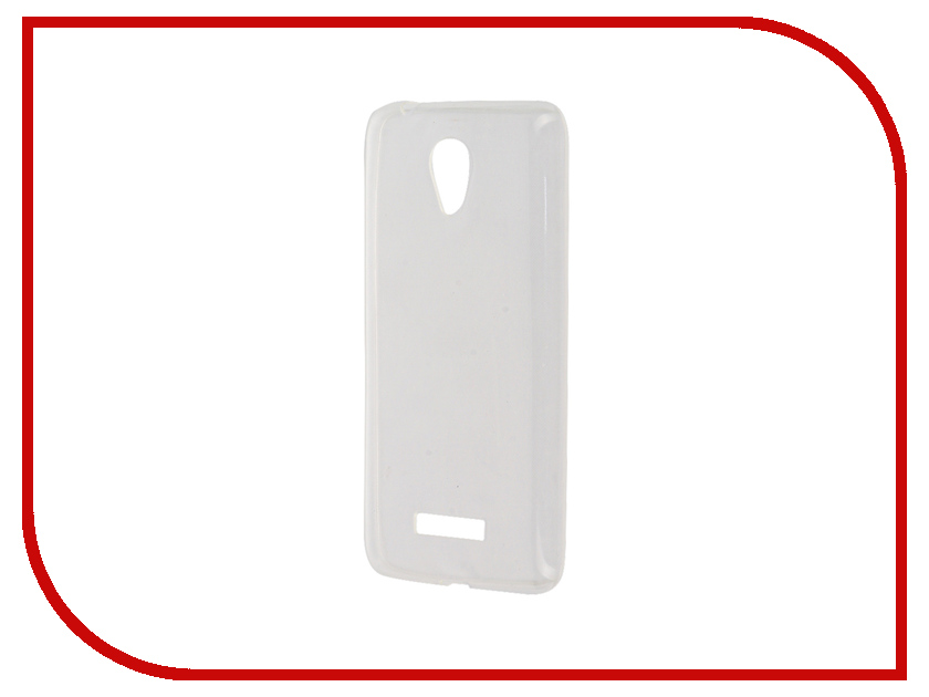Аксессуар Чехол Micromax Q380 Zibelino Ultra Thin Case White ZUTC-MMX-Q380-WHT<br>
