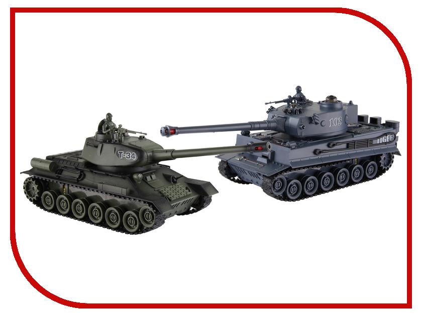Радиоуправляемая игрушка Shantou Daxiang Т34 против Тигр 47815<br>