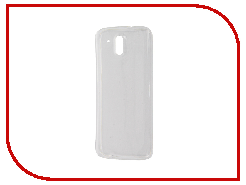 Аксессуар Чехол HTC Desire 526G+ Zibelino Ultra Thin Case White ZUTC-HTC-526G-WHT аксессуар чехол htc u ultra brosco black htc uu book black