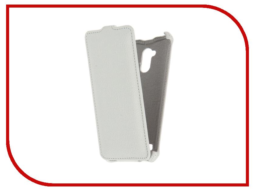 Аксессуар Чехол ZTE Blade V7 Lite Zibelino Classico White ZCL-ZTE-V7-WHT<br>