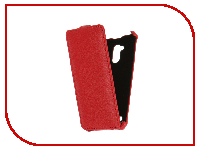 Аксессуар Чехол ZTE Blade V7 Lite Zibelino Classico Red ZCL-ZTE-V7-RED skinbox флип кейс zte blade x5