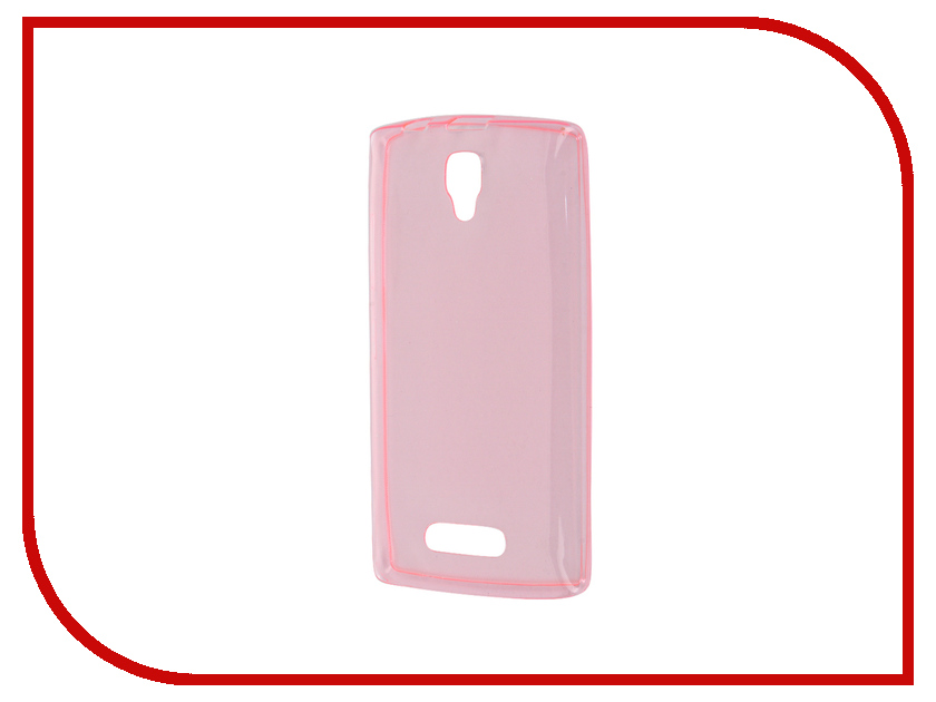 Аксессуар Чехол Lenovo A2010 Zibelino Ultra Thin Case Pink ZUTC-LEN-A2010-PNK<br>