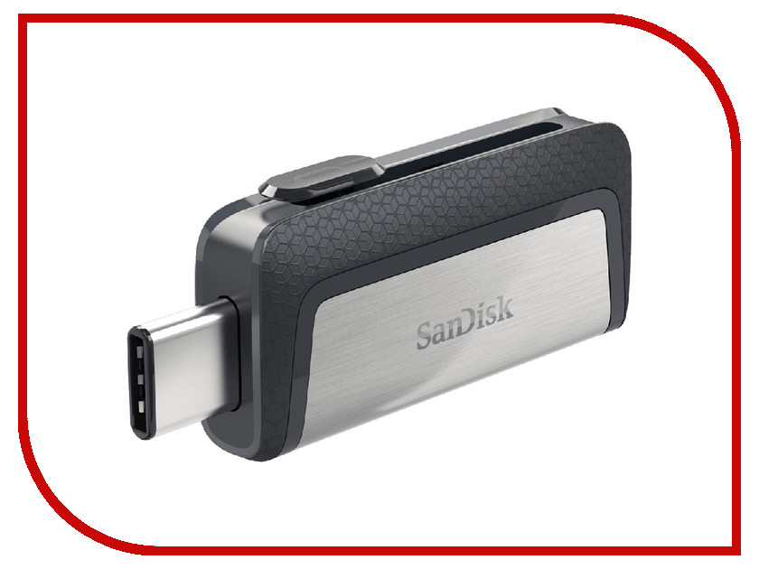 USB Flash Drive 16Gb - SanDisk Dual USB Drive Type-C SDDDC2-016G-G46<br>