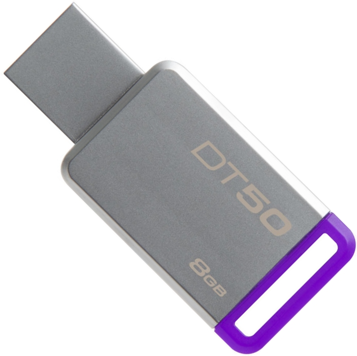 USB Flash Drive 8Gb - Kingston DataTraveler 50 USB 3.1 DT50/8GB цена и фото