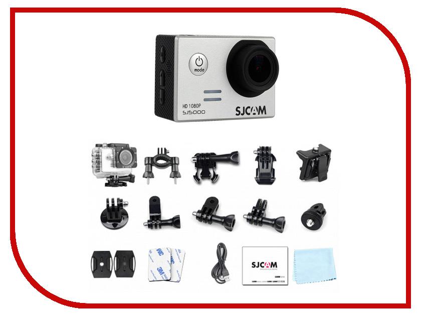 Экшн-камера SJCAM SJ5000 Silver sjcam sj5000 plus black экшн камера