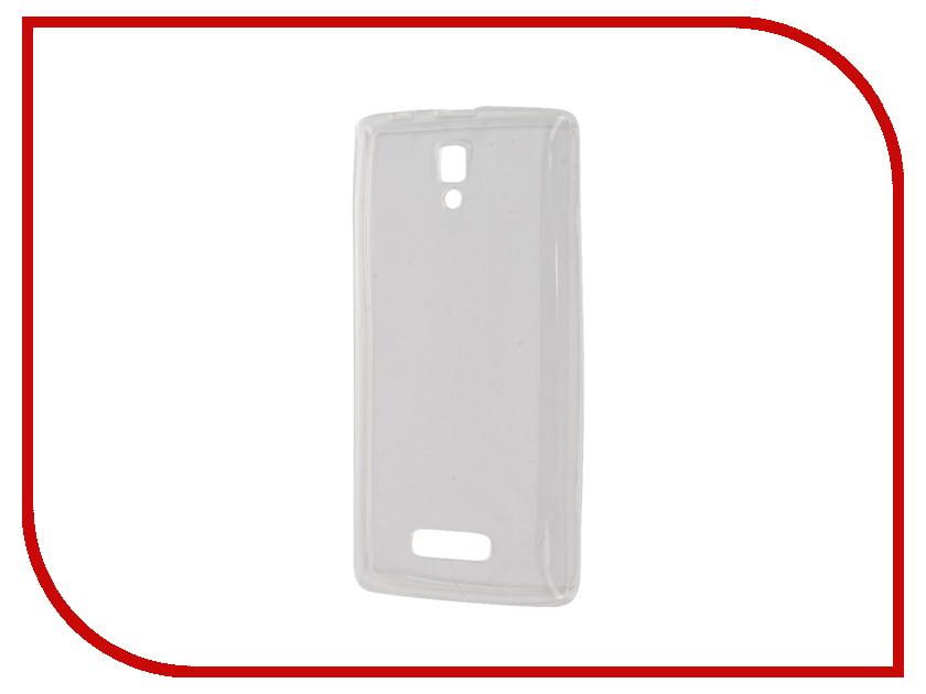 Аксессуар Чехол Lenovo A2010 Zibelino Ultra Thin Case White ZUTC-LEN-A2010-WH флип кейс euro line vivid для lenovo a2010
