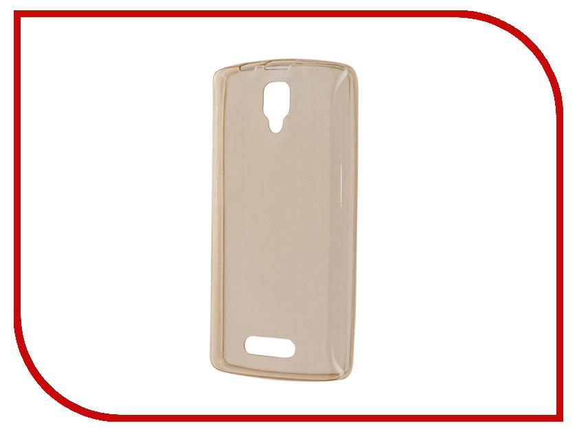 Аксессуар Чехол Lenovo A1000 Zibelino Ultra Thin Case Gold ZUTC-LEN-A1000-GLD