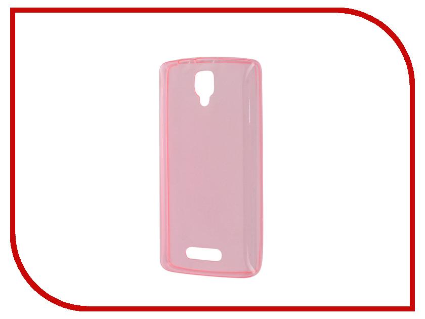Аксессуар Чехол Lenovo A1000 Zibelino Ultra Thin Case Pink ZUTC-LEN-A1000-PNK