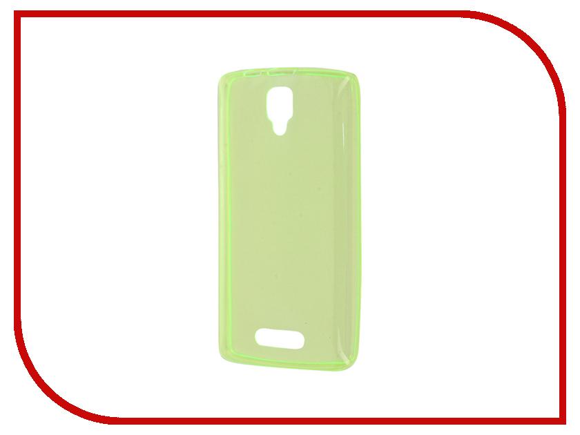 Аксессуар Чехол Lenovo A1000 Zibelino Ultra Thin Case Green ZUTC-LEN-A1000-GRN