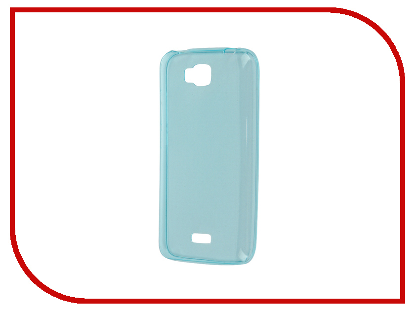 Аксессуар Чехол Huawei Y5C Zibelino Ultra Thin Case Blue ZUTC-HUA-Y5C-BLU<br>