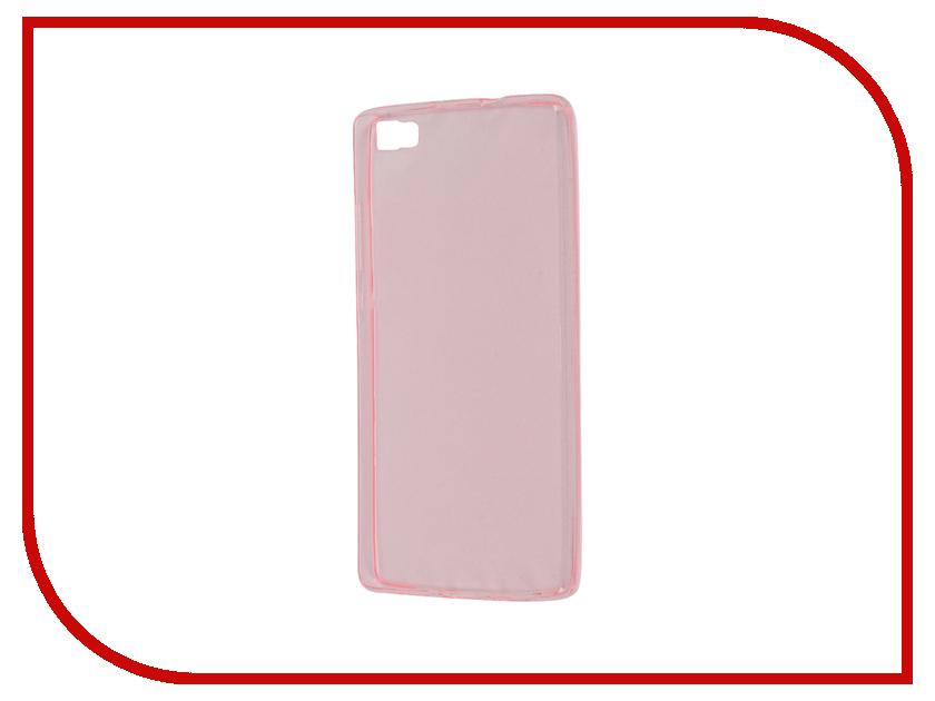 Аксессуар Чехол Huawei P8 Lite Zibelino Ultra Thin Case Pink ZUTC-HUA-P8l-PNK<br>