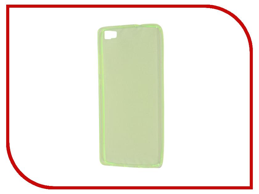 Аксессуар Чехол Huawei P8 Lite Zibelino Ultra Thin Case Green ZUTC-HUA-P8l-GRN
