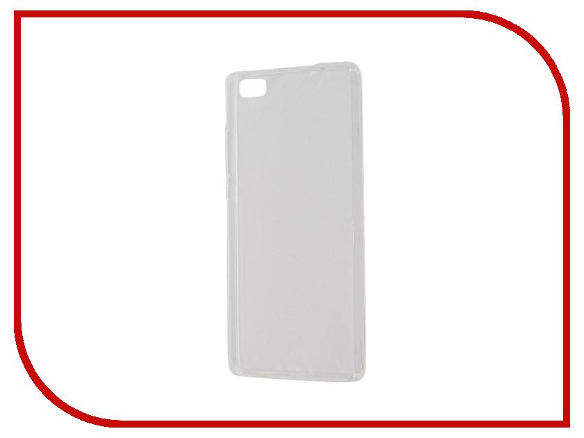 Аксессуар Чехол Huawei P8 Lite Zibelino Ultra Thin Case White ZUTC-HUA-P8l-WH аксессуар чехол huawei nova zibelino classico white zcl hua nov wht