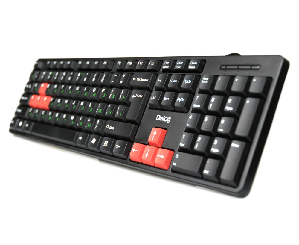 Клавиатура Dialog KS-030U Black-Red
