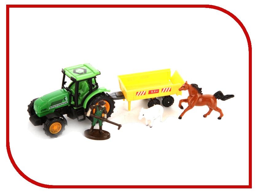Игрушка Технопарк Трактор 30519 игрушка технопарк зил 130 ct11 309 1