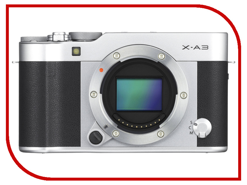 Фотоаппарат FujiFilm X-A3 Body Silver