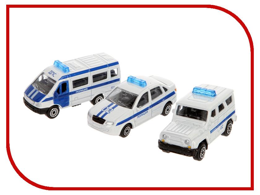 Игрушка Технопарк Полицейский транспорт SB-14-13
