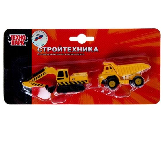 Игрушка Технопарк Строительная техника SB-15-19-BLC игрушка технопарк мотоцикл sb 16 02 mo p m