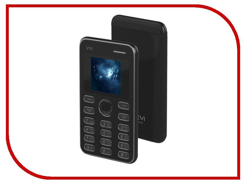 Сотовый телефон Maxvi V10 Black<br>