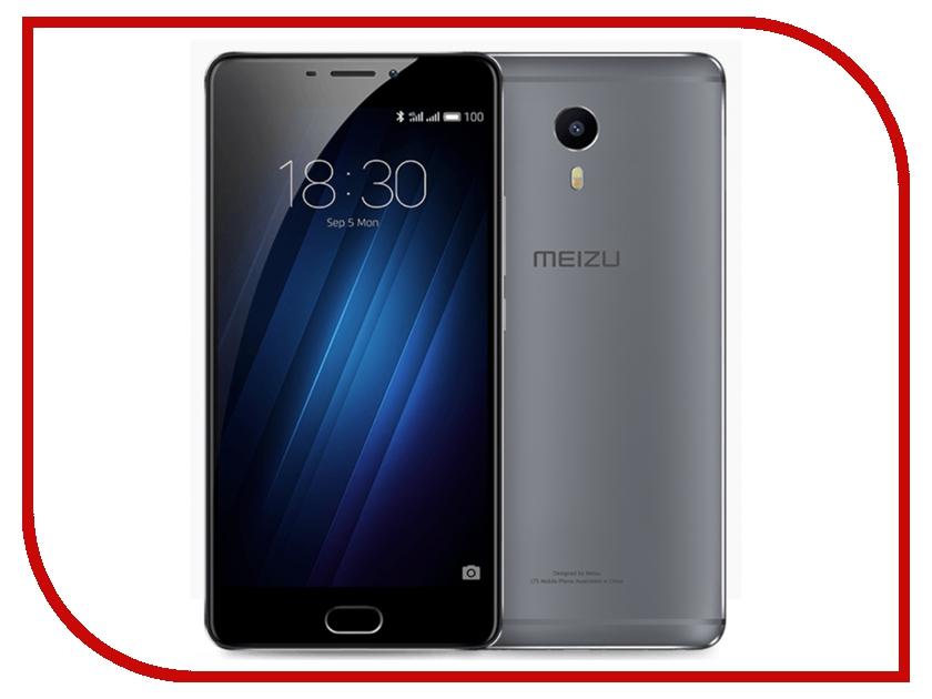 Сотовый телефон Meizu M3 Max 64Gb Dark Grey<br>