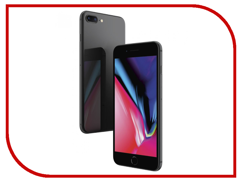 Сотовый телефон APPLE iPhone 8 Plus - 256Gb Space Gray MQ8P2RU/A сотовый телефон apple iphone 8 plus 64gb space gray mq8l2ru a