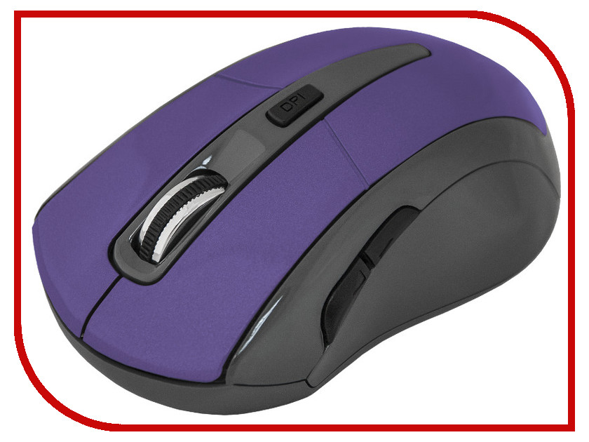 Мышь Defender Accura MM-965 Violet 52969 мышь defender accura mm 665 red 52668