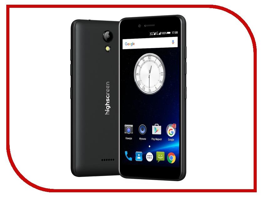 Сотовый телефон Highscreen Easy S Black<br>