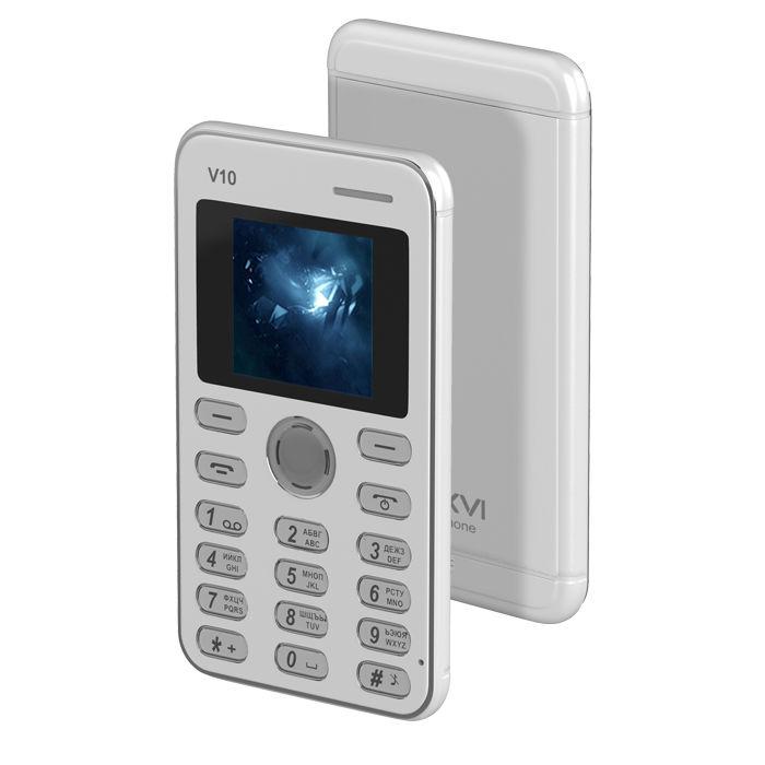 Сотовый телефон Maxvi V10 White