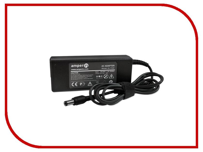 Блок питания Amperin AI-TS90 для Toshiba 15V 6A 6.3x3.0mm 90W