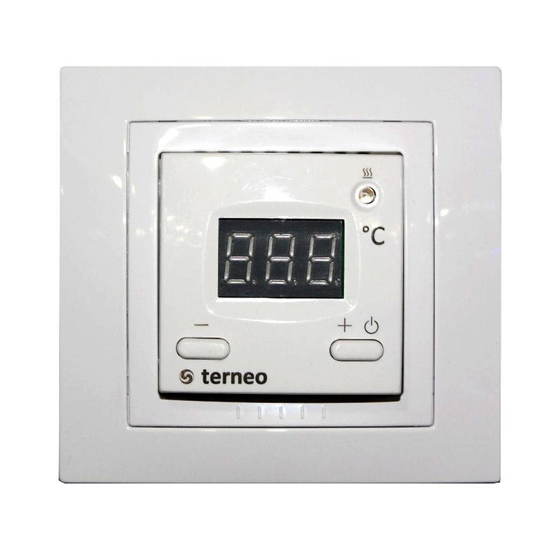 Терморегулятор Terneo ST White регулятор теплого пола terneo терморегулятор pro