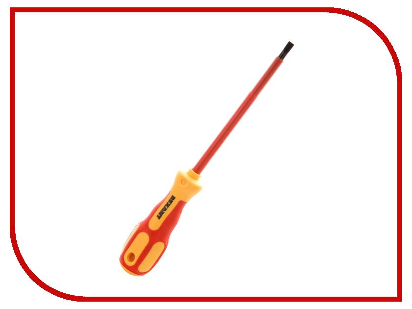 Отвертка Rexant Электрика SL6 12-4714 отвертка rexant sl6x125mm 12 4723