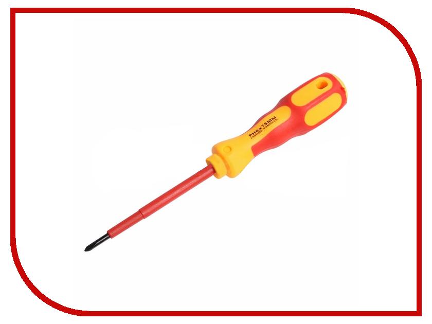 Отвертка Rexant Электрика PH0 12-4716 отвертка rexant sl6x125mm 12 4723