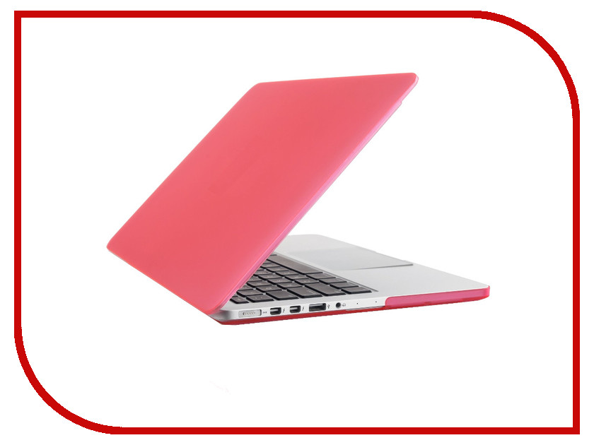 Аксессуар Чехол-кейс 12.0-inch Activ GLASS для APPLE MacBook 12 Pink 55632