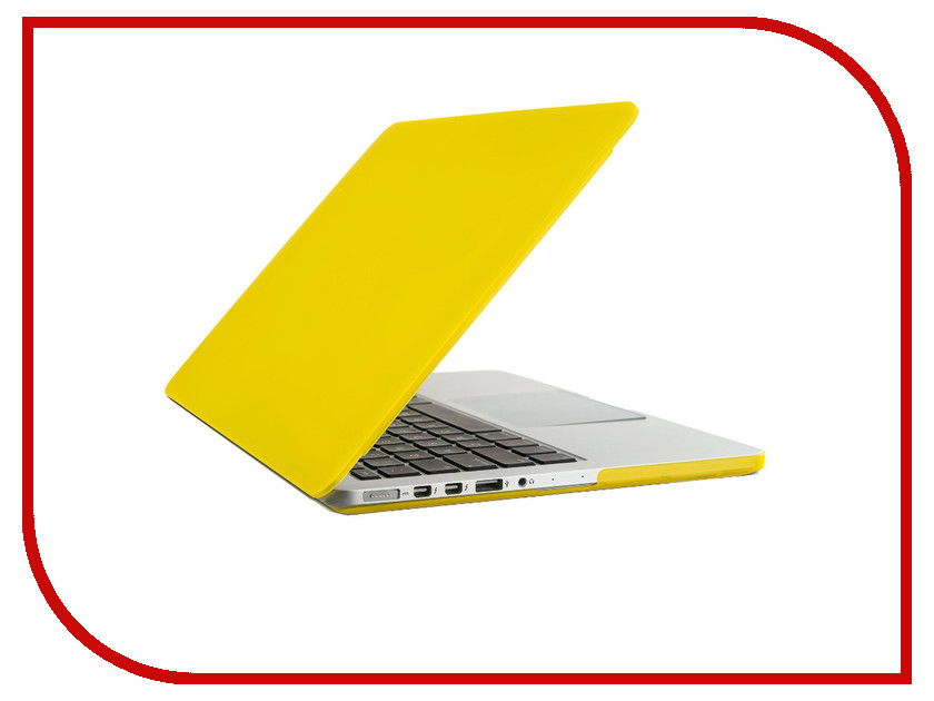 Аксессуар Чехол-кейс 12.0-inch Activ GLASS для APPLE MacBook 12 Yellow 55635