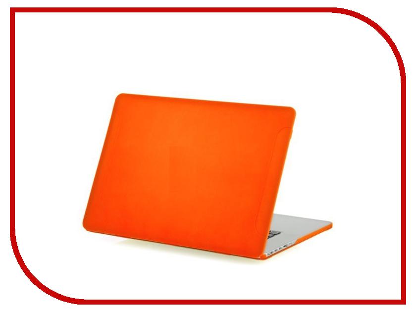 Аксессуар Чехол-кейс 12.0-inch Activ MATTE для APPLE MacBook 12 Orange 55639