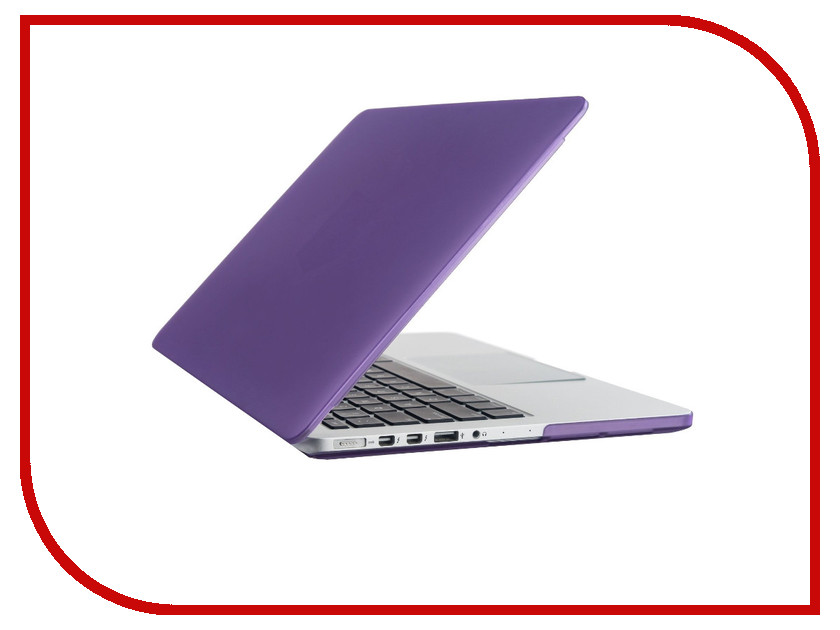 Аксессуар Чехол-кейс 11.0-inch Activ MATTE для APPLE MacBook Air 11 Purple 55664