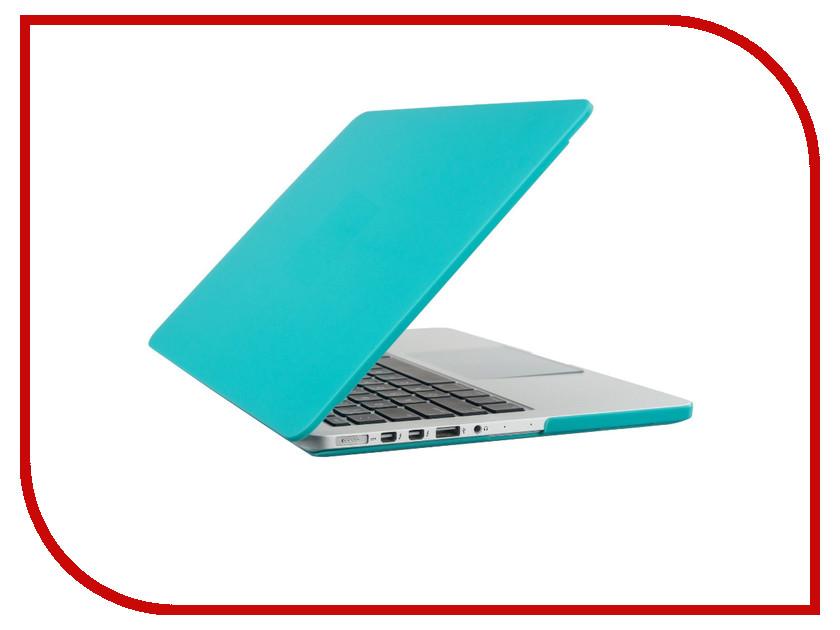 Аксессуар Чехол-кейс 13.0-inch Activ GLASS для APPLE MacBook 13 Sky Blue 55677