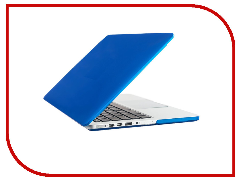 Аксессуар Чехол-кейс 13.0-inch Activ GLASS для APPLE MacBook Pro 13 Blue 55692<br>
