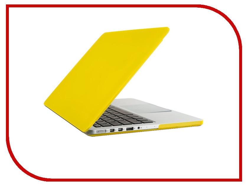 Аксессуар Чехол-кейс 13.0-inch Activ GLASS для APPLE MacBook Pro 13 Yellow 55701