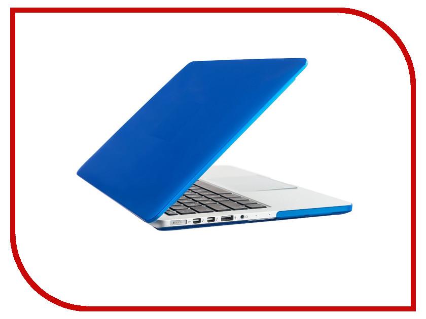 Аксессуар Чехол-кейс 13.0-inch Activ GLASS для APPLE MacBook Pro 13 Retina Blue 56953