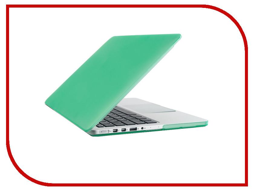Аксессуар Чехол-кейс 13.0-inch Activ GLASS для APPLE MacBook Pro 13 Retina Mint 56961