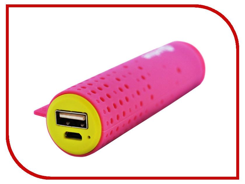 Аккумулятор Amperin AI-TUBE 3100mAh Pink