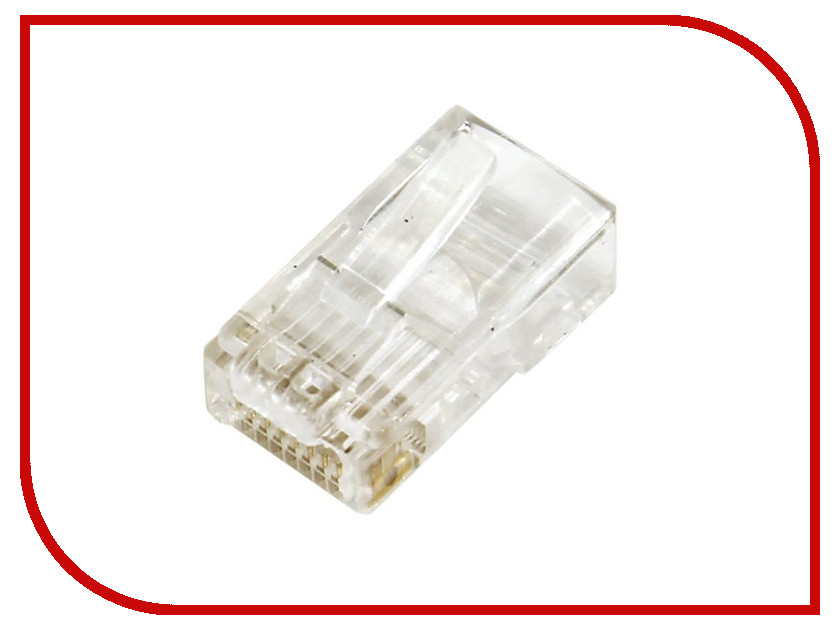 Коннектор 5bites RJ-45 8p8c US005A - 100 шт проходник 5bites ly us022 rj 45 8p8c f f