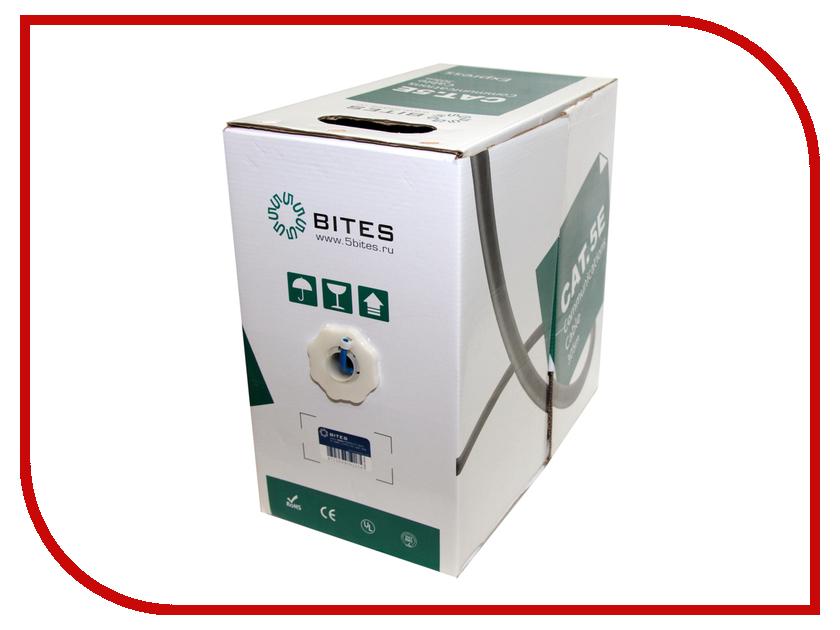 Сетевой кабель 5bites UTP / STRANDED / 5E / CCA / PVC / 305M UT5710-305A аксессуар 5bites utp solid 5e cca ccs pvc 305m us5400 305s