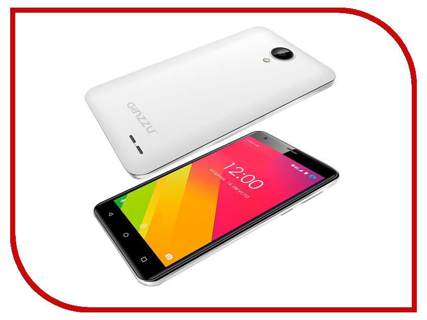 все цены на  Сотовый телефон Ginzzu S5510 White  онлайн