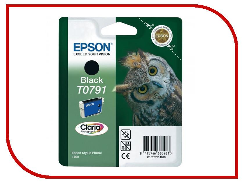 Картридж Epson T0791 C13T07914010 Black для P50/PX660/PX820/PX830 картридж epson t3249 c13t32494010 orange для sc p400